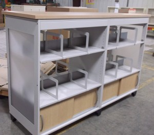 McAuthor Custom Library Cart